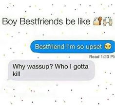 just bestfriends in general but tRUE