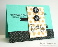 Created by Sarah M with the April 2013 Card Kit for Simon Says Stamp