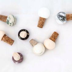 Marble Stopper Wine - Variouse Colors - Crockery & Utensils - Kitchen & Dining - Homeware - Kitchenware - Kitchen Accessories - Fiammetta V.
