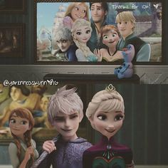 Cute, but I'm still picturing Jelsa as siblings/relatives