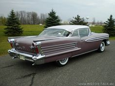 1958 Oldsmobile Super 88 Holiday Coupe #toyotaclassiccars