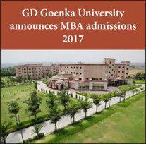 GD+Goenka+University+announces+MBA+admissions+2017