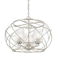 LightingDesignExperts.com | Riviera - Three Light Pendant  sc 1 st  Pinterest & Nuvo Lighting Harlow Polished Nickel Three-Light Pendant w/Slate ... azcodes.com