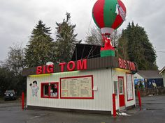 Big Tom Drive Inn, Olympia, WA by Robby Virus, via Flickr
