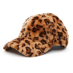 80c2ed15fb4 Opening Ceremony Faux Fur Baseball Hat ( 65) ❤ liked on Polyvore featuring  accessories