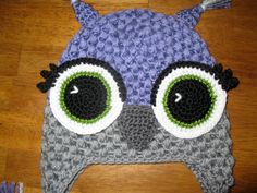 Alice Owl Crochet Hat Pattern with by Simply2Irresistible on Etsy, $2.99