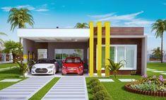 Plantas de Casas - Projetos de Casas, Modelos de Casas, Projetos de Sobrados, Fachadas de Casas, Acesso Grátis