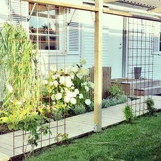 Pergola For Sale Craigslist Garden Trellis, Balcony Garden, Garden Structures, Garden Paths, Outdoor Landscaping, Outdoor Gardens, Gazebos, Pergola With Roof, Permaculture