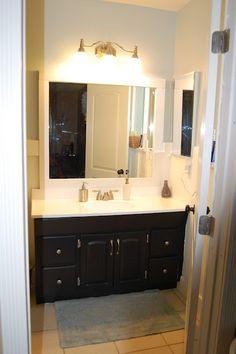 DIY bathroom renovation on the cheap