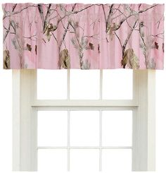 Find Realtree AP Pink Valances, 88 in. x 18 in. in the Window Treatments category at Tractor Supply Co.These Realtree AP Pink Valances are the t Camo Rooms, Dorm Rooms, Pink Camo Bedroom, Kids Rooms, Tiffany Bedroom, Student Living, Baby Shower Fall, Fall Baby, Valance Curtains