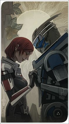 So sweet these two. They are my favorite mass effect romance hands down :-) ...