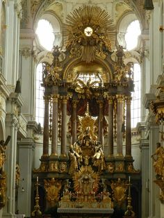 Altar Sainkt Peter, Mûnchen, Munique, Munich, Deutschland, Alemanha, Germany, Europa, Europe, Central Europe, Europa Central