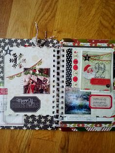 Here's my 1st December Daily post of 2013! I'm using the Believe Memory File Album from Heidi Swapp!