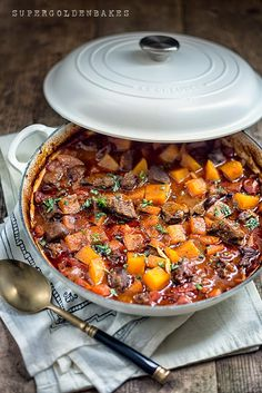 One–pot Vietnamese Beef and Squash Stew