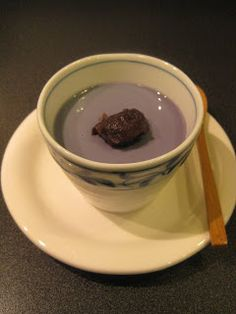 HAPPY DONABE LIFE  -  Mrs. Donabe's Rustic Japanese Kitchen: Okinawa Purple Yam Blancmange