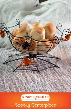 Scare-ify any table with festive serving bowls and platters.