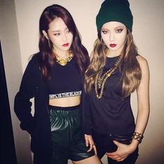 Gayoon & Hyuna