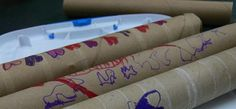 Kitchen recycling tips: Paper towel tubes #recycle #kitchen