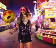 Natalia Homolova - Motel Rocks Dress, Primark Top - Sequin loving