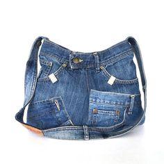 Recycled shoulder bag by Sisoibags