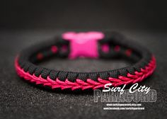 Thin Paracord Fishtail with Center Stitch.