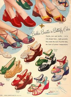 1952 Fashions From Sears!