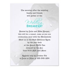 7b0bec44c094933ffd8fb98a432dd567 sand dollar wedding sand dollars rise and dine post wedding breakfast brunch invitation celebrate,Wedding Breakfast Invitations