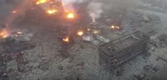 Tianjin Blasts: Drone Footage Shows Extent of Devastation http://www.visiontimes.com/2015/08/13/tianjin-blasts-drone-footage-shows-extent-of-devastation.html
