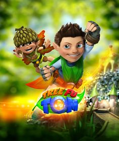 i think the theme might have to be the new fav.. tree fu tom