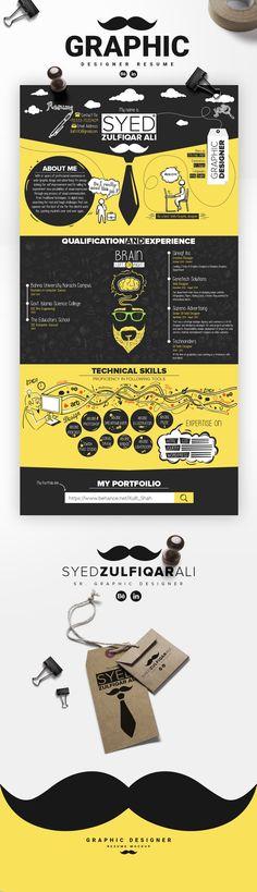 """다음 @Behance 프로젝트 확인: """"Graphic Designer Resume Mockup"""" https://www.behance.net/gallery/24968659/Graphic-Designer-Resume-Mockup"""