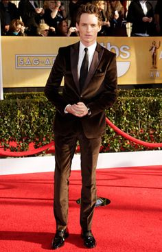 Eddie Redmayne at the 2013 Screen Actors Guild Awards in Los Angeles, California. January 27, 2013. | MTV Photo Gallery