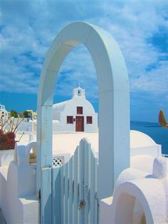 Beautiful Santorini, Greece.