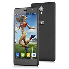 "Elephone Trunk - Smartphone libre 4G Lte (Pantalla 5.0"", Cámara 13 Mp, 16 GB, Android 5.1, Quad Core 64 bit, 2GB RAM, Dual SIM) (Negro) Elephone"