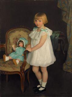 The Athenaeum - Portrait of Eleanor Anne Schrafft (William MacGregor Paxton - )