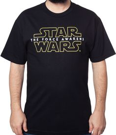 Star Wars Force Awakens T-Shirt: Star Wars Mens T-Shirt