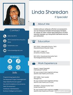 Free IT Professional Resume Template Indesign Resume Template, Best Free Resume Templates, Business Resume Template, Free Professional Resume Template, Professional Resume Samples, Microsoft Word Resume Template, Basic Resume, Resume Template Examples, Cv Template