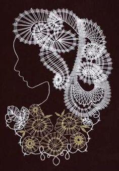 Bobbin Lace, Crochet Earrings, Jewelry, Persona, Bobbin Lacemaking, Jewlery, Jewerly, Schmuck, Jewels