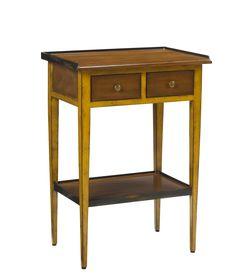 M-FML-090-YEL Accent Table in Yellow finish available at French Heritage.