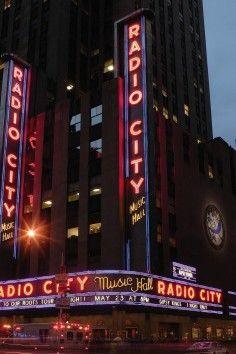 Radio City Music Hall is a New York City icon.