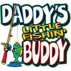 Daddy's Little Fishing Buddy by Mychristianshirts on Etsy