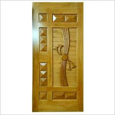 SHREE BALAJI WOOD IMPEX - Manufacturer, Supplier and Trader comprehensive range of Teak Stylish Wooden Door sine 2011 in Delhi NCR. Find our these Teak Stylish Wooden Door with contemporary, minimalist and sturdy design and affordable prices. New Door Design, Wooden Front Door Design, Room Door Design, Door Design Interior, Interior Doors, Modern Wooden Doors, Custom Wood Doors, Modern Door, Wooden Windows