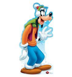 "Opentip.com: Advanced Graphics 1739 Goofy Holiday - Disney (Limited Edition) - 67""x 33"" Cardboard Standup"