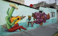 Saner x Sego x AEC New Mural @ Mexico City | Ozarts Etc