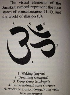 "The elements of ""om"". One of the three tattoos I'm going to get."