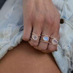 Trend Report: I'm all about the moonstone!