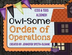 A new and engaging matching activity using Order of Operations with powers perfect for ANY classroom!