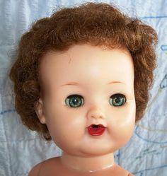 Mod 1969 1972 Talking Pj Doll Barbie W Org Dress Beads