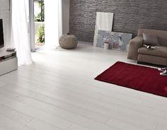 Parquet blanc : Le revêtement de sol bois blanchi c'est chic !