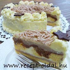 Hungarian Recipes, Hungarian Food, Torte Cake, Cake Cookies, Nutella, Cake Recipes, Cheesecake, Clean Eating, Food And Drink