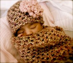 Little Missy Baby Cocoon Set by kariodesigns on Etsy, $35.00